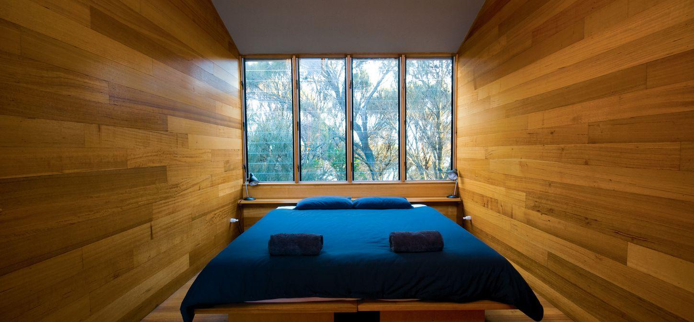 Sunset Bay of Fires Lodge Tasmania bedroom