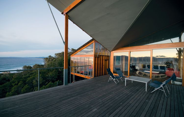 Bay of Fires Lodge Deck