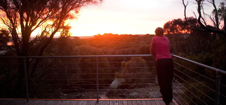 Bay of Fires Lodge Tasmania sunset