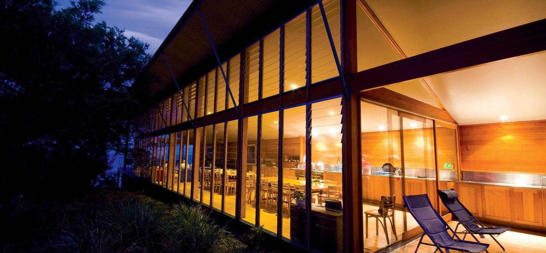 Bay of Fires Lodge Tasmania dining room