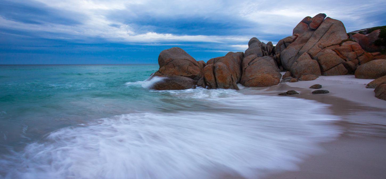 Bay of Fires Lodge Tasmania beach