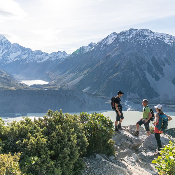 View To Hooker Lake