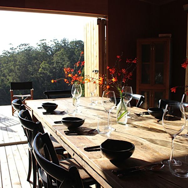 Bruny Island Long Weekend Dining Table