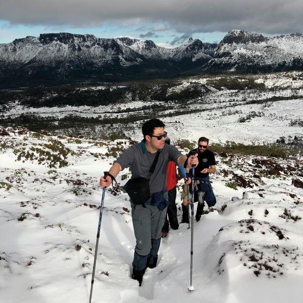 Ascending Mt Pelion East