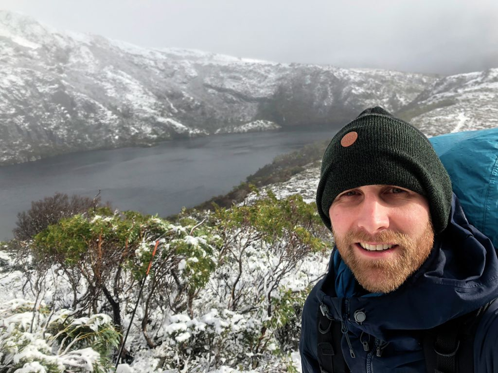 Guest Magnus Bjornson, Crater Lake, Overland Track, Cradle Mountain Huts Walk, Overland Track