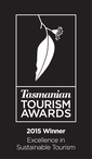 Winner Excellence In Sustainable Tourism 2015 Reversed