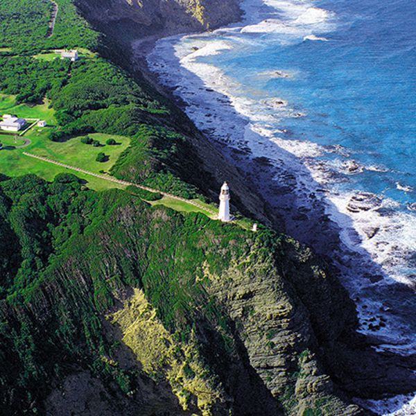 Lighthouse Page Aerial Shot Borrowed