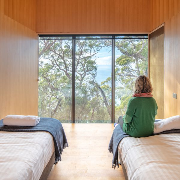 Bec In Twin Bedroom Munro